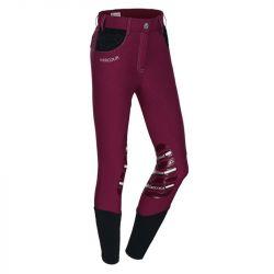 Un pantalon d'équitation haut en couleur et muni d'un système grip - Le Paturon