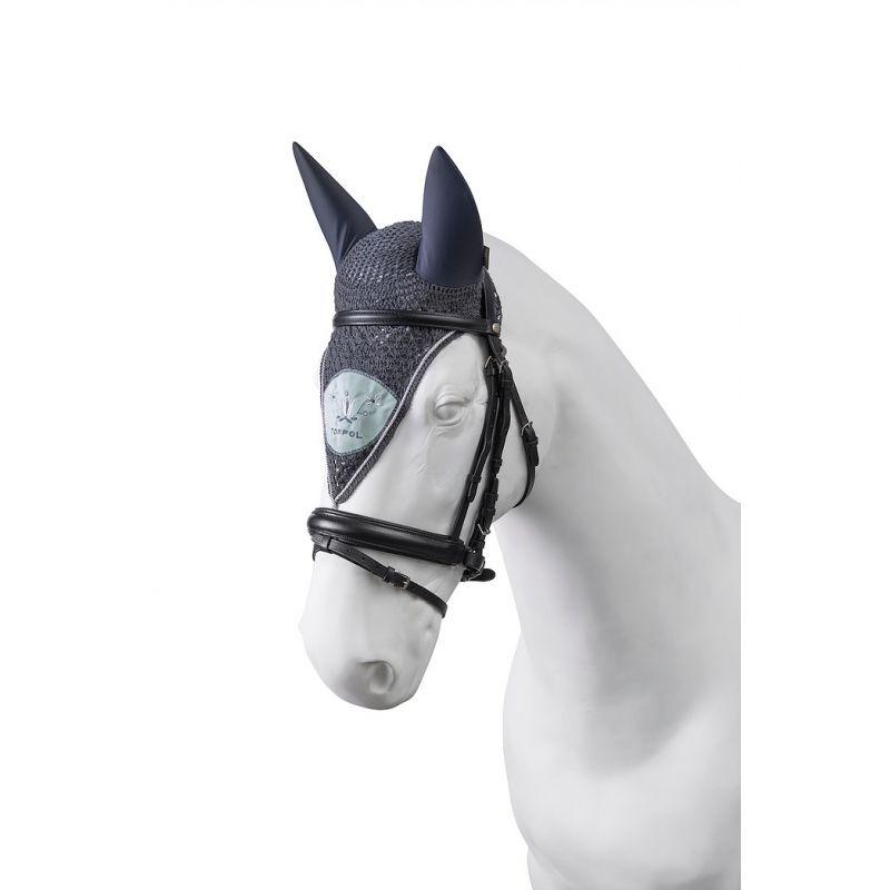 Bonnet cheval Torpol long anti-mouche fait main - Le Paturon