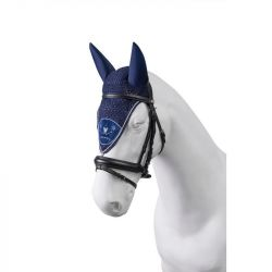 Bonnet cheval Torpol long anti-mouche fait main - Le Paturon