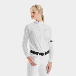 Chemise de concours Femme Horse Pilot manches longues - Le Paturon