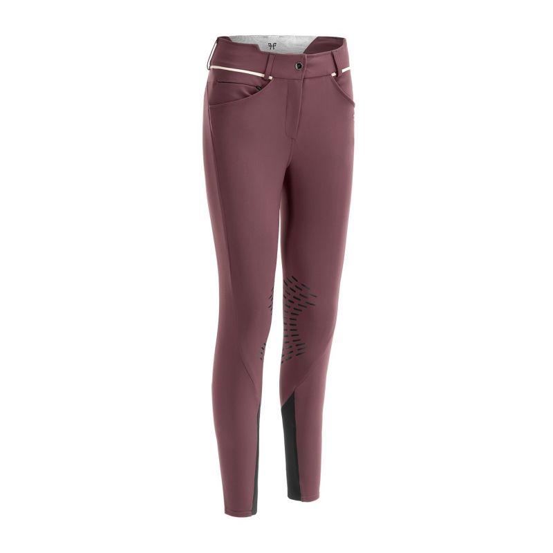 1 Pantalon d'équitation femme Horse Pilot X-Design bordeaux - Le Paturon