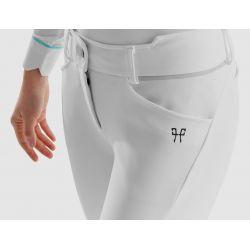 X-Design Horse Pilot Pantalon d'équitation femme blanc - Le Paturon