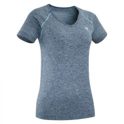 1 Tee-shirt équitation femme respirant Horse Pilot Revolution bleu iceberg - Le Paturon