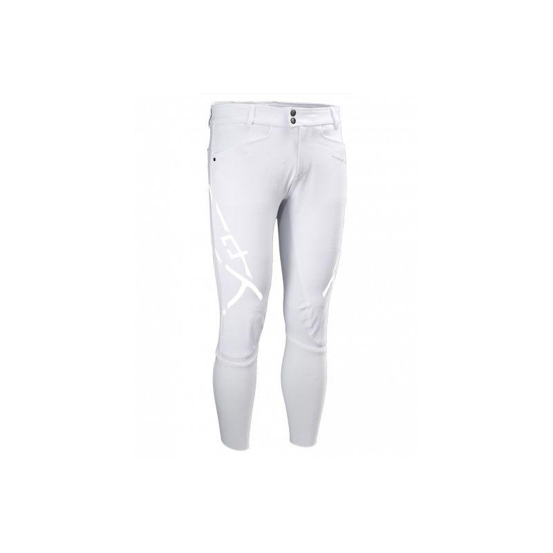 1 Pantalon Homme X Plosive Horse Pilot Blanc - Le Paturon
