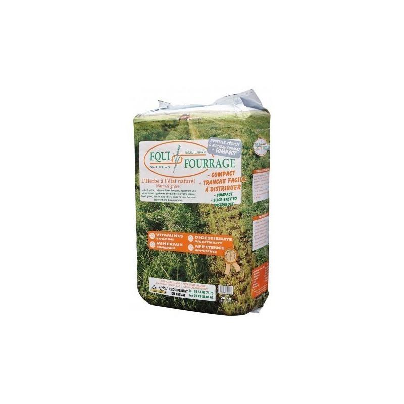 Aliment équifourrage herbe enrubanné sac de 20 kgs - Le Paturon