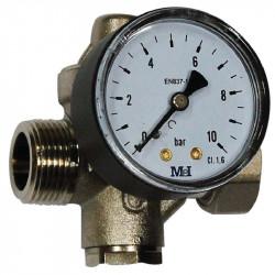 Limiteur pression manomètre...