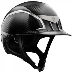 Casque Carbone XJ Samshield noir glossy - Casque équitation - Le Paturon