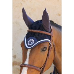 3 Bonnet anti-mouche cheval Harcour Capitaine Rider - Le Paturon