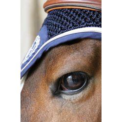 4 Bonnet anti-mouche cheval Harcour Capitaine Rider - Le Paturon