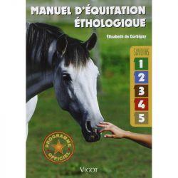 Manuel d'équitation éthologique - Savoir 1 à 5 - Elisabeth de Corbigny (vigot )