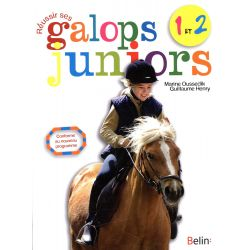 Réussir ses galops 1 à 2 Junior - Guillaume Henry/ Marine Oussedik (belin)