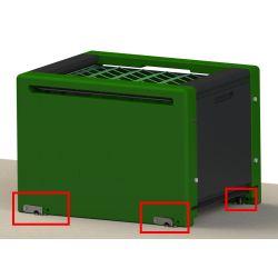 Kit de fixation au sol pour râtelier Haybox Stable Pro - Le Paturon