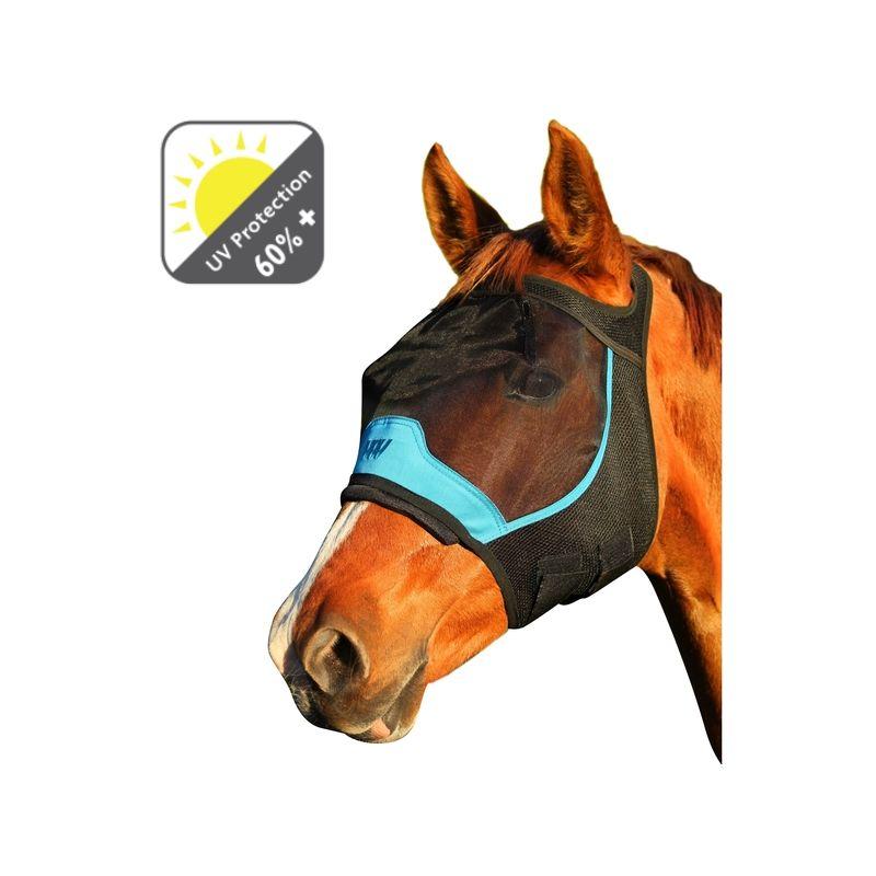 1 Masque cheval anti-mouche anti-uv Woof Wear sans oreilles - Le Paturon