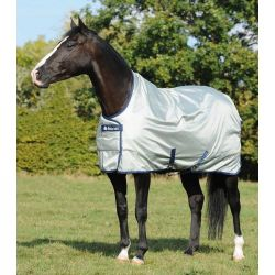 2 Couverture de pré Power Turnout Hight Neck Bucas - Le Paturon