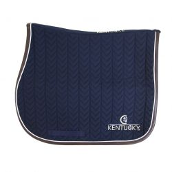 1 Tapis chabraque Fishbone Kentucky Marine - Le Paturon