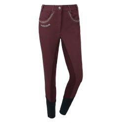 1 Pantalon équitation femme Unita Harcour Prune - Le Paturon