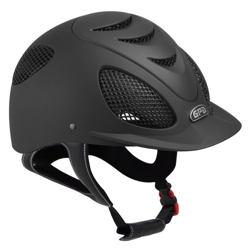 Casque Gpa Speed Air 2X noir - Le Paturon