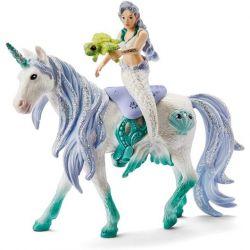Figurine sirène sur licorne de mer - Schleich