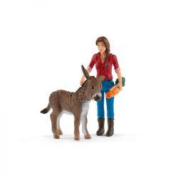 Ferme avec étable et animaux Schleich