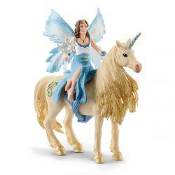 Figurine Eyela sur licorne dorée Schleich