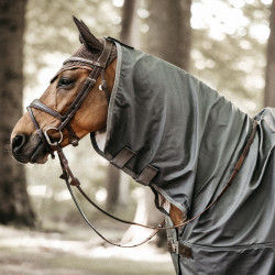 Couverture imperméable cheval avec couvre cou Kentucky - Le Paturon