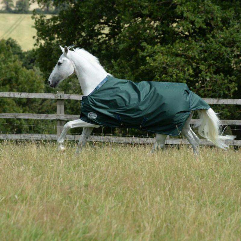 Couverture cheval au pré Green Line 300g recyclable Bucas - Le Paturon