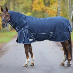 Couverture cheval imperméable extérieur intégrale Comfort 200 g - Waldhausen