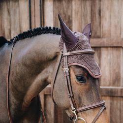 Bonnet anti-mouches cheval Wellington Glitter Band Kentucky - Le Paturon