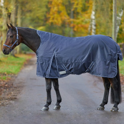 Couverture extérieur cheval - couverture 200 g High Neck Economic Waldhausen - Le Paturon