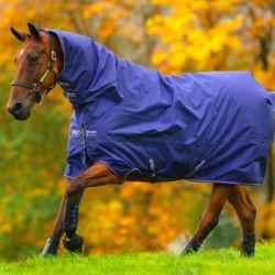 Couverture extérieur cheval Turnout 200g avec couvre-cou Horseware - Le Paturon