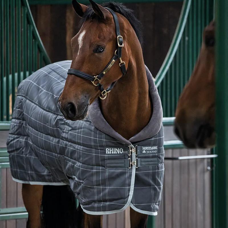 Couverture cheval Horseware écurie Rhino Original 400g - Le Paturon