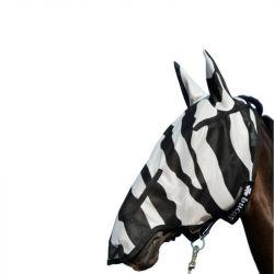 Masque anti UV Cheval Zebra intégral Bucas - Le Paturon