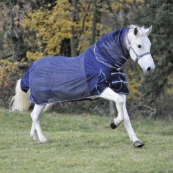 Couverture anti-mouche cheval encolure élastique Waldhausen - Le Paturon