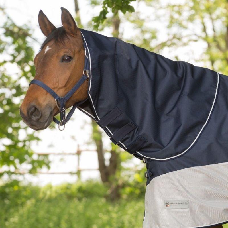 Camail anti-mouche cheval pluie Protect Waldhausen - Le Paturon