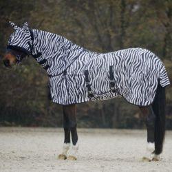 Couverture anti-mouche cheval Zebra Waldhausen - Le Paturon