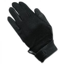 Gants d'équitation coton Elt noir - Le Paturon