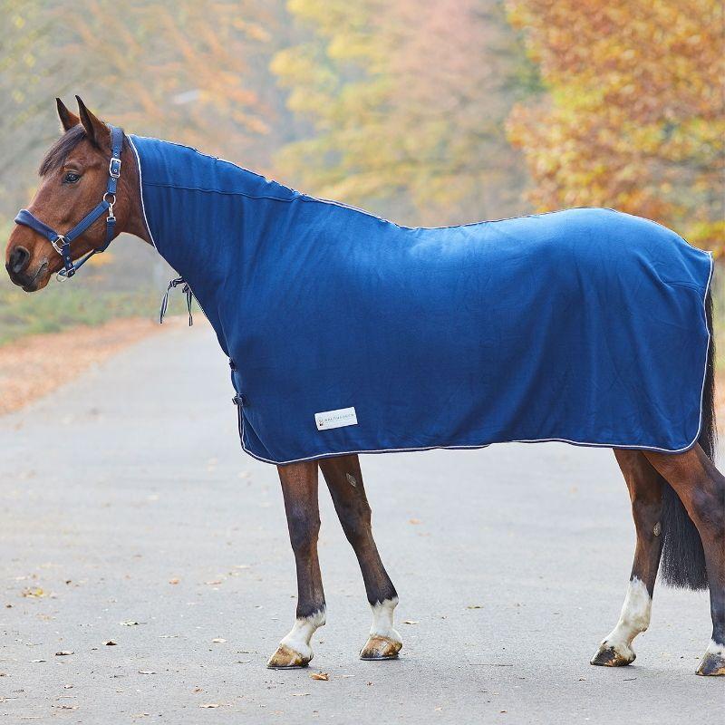 Chemise polaire cheval Economic avec encolure Waldhausen - Le Paturon