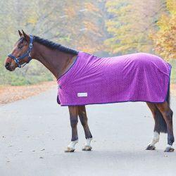 Chemise polaire cheval Unicorn impression coeurs Waldhausen - Le Paturon