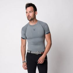 T-shirt technique homme Posture Motion Horse Pilot - Le Paturon
