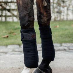 Bandes de polo cheval pailletées x4 Kentucky - Le Paturon
