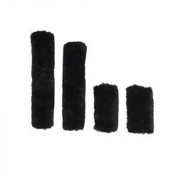 Fourreaux de licol Kentucky Horsewear mouton synthétique set 4 pièces