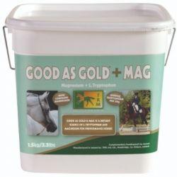 Complément chevaux stressés et nerveux Good As Gold + Mag 1,5kg TRM - Le Paturon