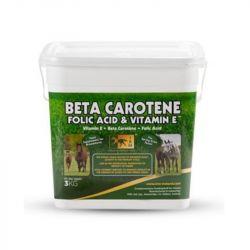 Poudre orale fécondité jument Béta-carotène/acide folique/vitamine E 3kg TRM - Le Paturon