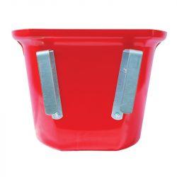 Mangeoire plastique de porte à crochets 17.5 L La Gée