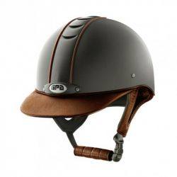 Casque équitation Titium Leather GPA - Le Paturon