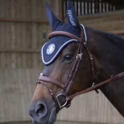 Bonnet anti-mouches cheval Ecusson Antarès - Le Paturon