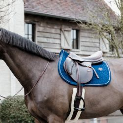 Tapis Velvet Basic cheval dressage et jumping en velours Kentucky - Le Paturon