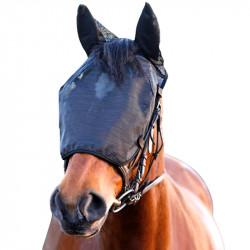 Masque Equilibirum Net Relief anti mouche cheval travail oreilles anti-uv - Le Paturon