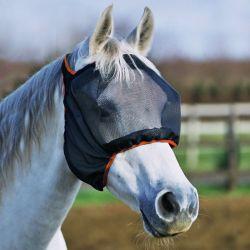 Masque anti-mouches cheval Midi anti-UV sans oreilles Equilibrium
