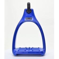Etriers personnalisables Confort et Sécurité gamme Fun Rid'Up bleu France - Le Paturon